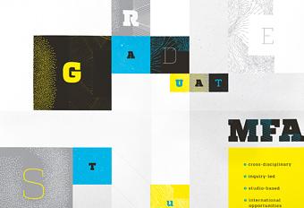 MFA & MDes graduate programs poster – Stamps School